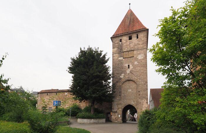 Rinderbacher Torturm - Schwäbisch Gmünd