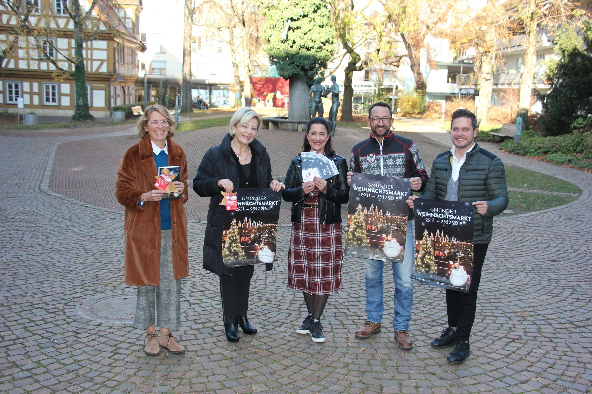 Schwäbisch Gmünd Weihnachtsmarkt.Der Gmünder Weihnachtsmarkt öffnet Die Pforten Schwäbisch Gmünd