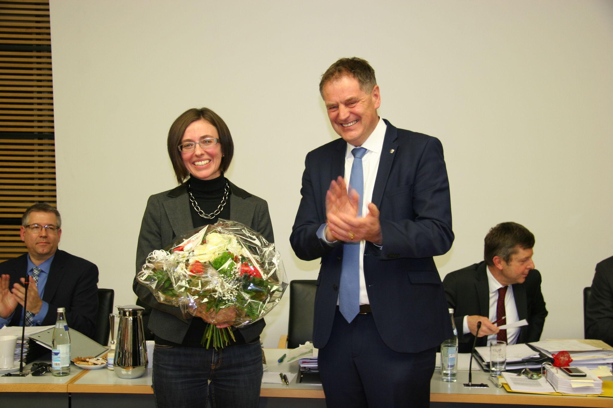 Sabine Rieger Ist Nachfolgerin Von Peter Krebs Im Amt Für